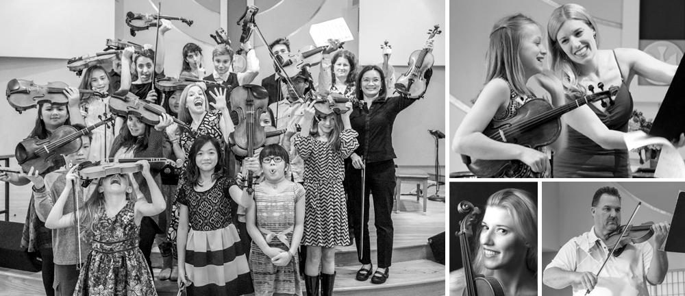 Cora Reuter's Violin Students