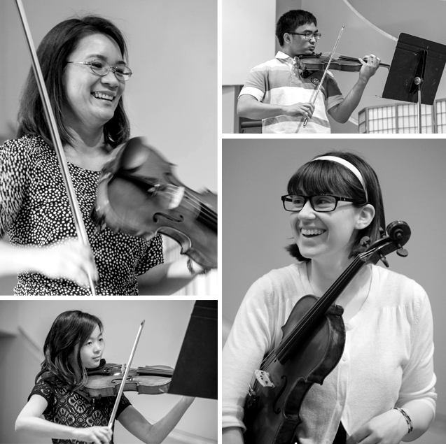Cora Reuter's Violin Students